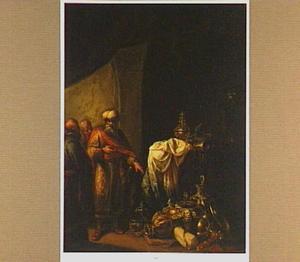 Croesus toont Solon zijn rijkdom