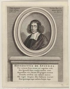 Portret van Benedictus (Baruch) de Spinoza (1632-1677)