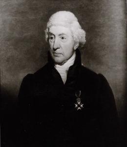 Portret van Christiaan Everard Vaillant (1746-1829)