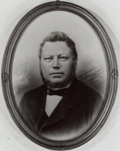 Portret van dhr. Antonius Christophorus Franciscus Receveur (1814-1888)