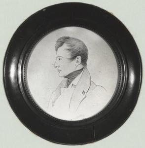 Portret van Otto Adriaan Lewe tot Aduard (1813-1836)
