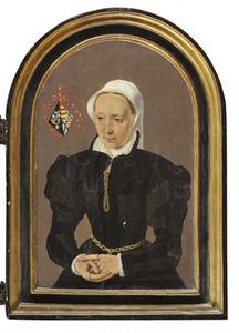 Portret van een vrouw uit de Van Heinsberghe-familie
