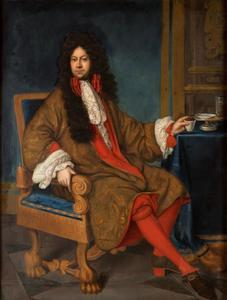Portret van Norbert Leopold Libsteinsky van Kolowrat