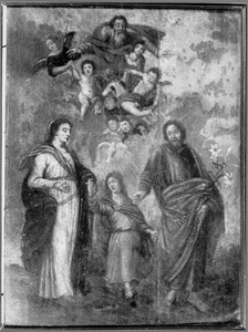 De H. Familie tijdens de terugkeer uit Egypte