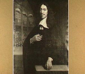 Portret van Johan de Witt (1625-1672), heer van Zuid- en Noord Linschoten, Snellerwaard, Heekendorp en Ysselvere, raadpensionaris van de Staten van Holland en Westfriesland
