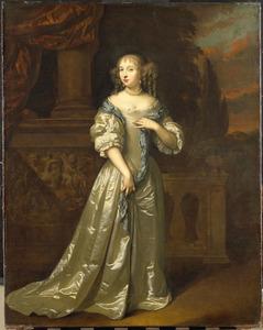 Portret van Philippina Staunton (....-1720)