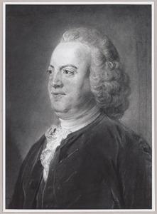 Portret van  Antoni Warin (1712-1764)