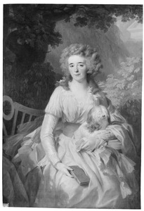 Portret van Margaretha Clara Munter (1758-1833)