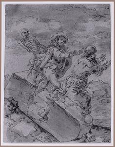 Chicotus breekt de fles (Suenos 1641, boek II, vierde droom)