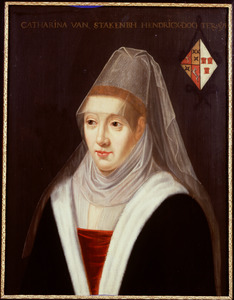 Portret van Catharina van Stakenburgh