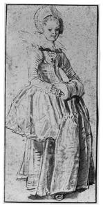 Staande vrouw