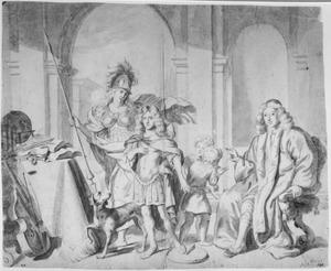 Portret van de familie De Bordes