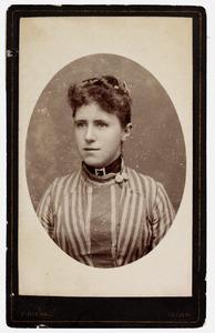 Portret van Mw. Johanna Plemp (1869-1900)