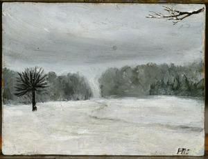 Winterstille (authentiek)