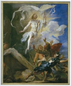 Het Snijderstriptiek: De wederopstanding van Christus