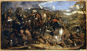 Ruitergevecht tussen Europeanen