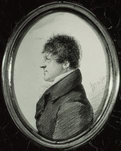 Portret van een man, waarschijnlijk Carel baron Bentinck (1751-1825)