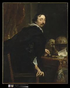 Portret van Lucas van Uffel l (1586-1637)