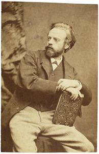 Portret van Augustus Allebé (1838-1927)