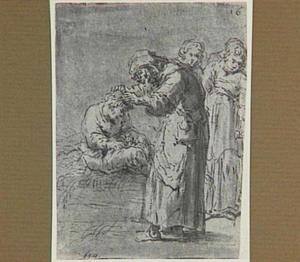 Lazarillo, door de kapelaan half dood geslagen, wordt verpleegd (Lazarillo de Tormes dl. 1, cap. 10, p. 28)