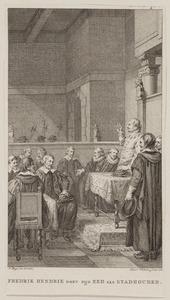 Frederik Hendrik legt de eed als stadhouder af (sept. 1625)