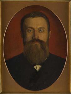 Portret van Pieter Pet (1846-1920), zwager van de schilder