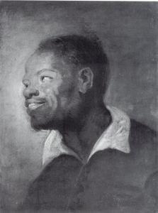 Kop van een zwarte man