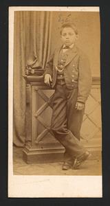 Portret van Egbert Frederik Godin (1855-1908)