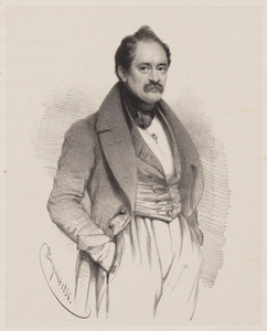Portret van Pierre Henri Martin (1793-1882)