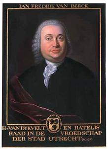 Portret van Jan Frederik van Beeck (....-....)