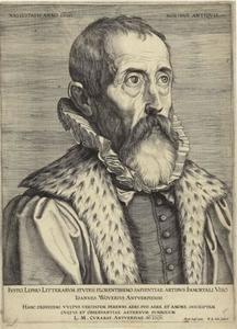 Portret van Justus Lipsius (1547-1606)
