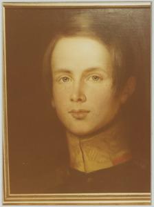 Portret van prins Alexander van Oranje- Nassau (1818-1848)