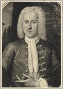 Portret van Frederik Abraham Cassa (1696-1776)