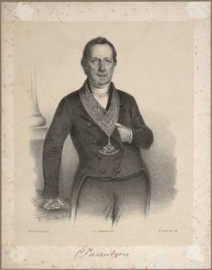 Portret van Cornelis van der Vijver (1784-1855)