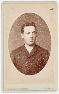 Portret van Dirk Huyser van Reenen (1869- )