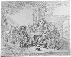 Christus in het huis van Simon de Farizeeër (Lukas 7:36-50)