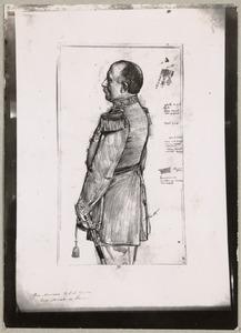 Portret van Willem Lodewijk Adolf Gericke (1836-1914)