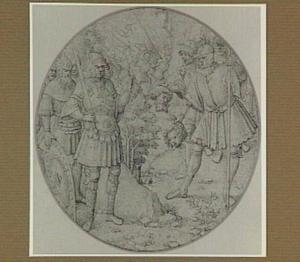 Soldaten met twee hoofden van martelaren