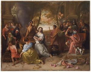 Het offer van Iphigenia