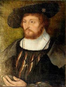Portret van koning Christiaan II van Denemarken (1481-1559)