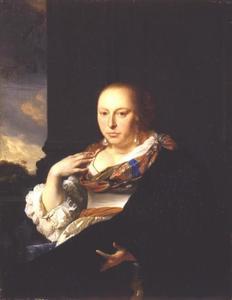 Portret van Maria van der Vecht (?-?)