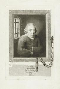 Portret van Abraham Maggaris (1721/1722-1803)