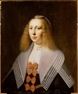 Portret van Eduarda van Juckema ( ?-1654)