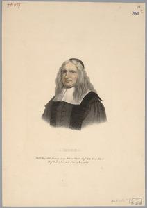 Portret van Johannes Coccejus (1603-1669)