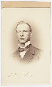 Portret van Jan Alingh Prins (1821-1891)