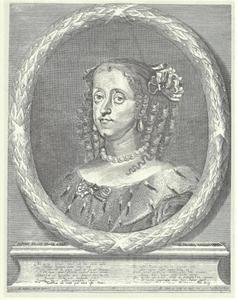 Portret van Sophia Amalia van Brunswijk Lüneburg (1628-1685), echtgenote van Frederik III (1609-1670)