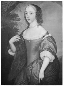 Portret van een vrouw, waarschijnlijk Anna Isabella van Beyeren van Schagen (1636-1716)
