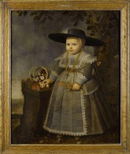 Portret van een anderhalf-jarige jongen