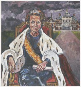 Portret vn koningin Beatrix (1938-)