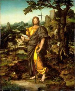 Christus in een landschap